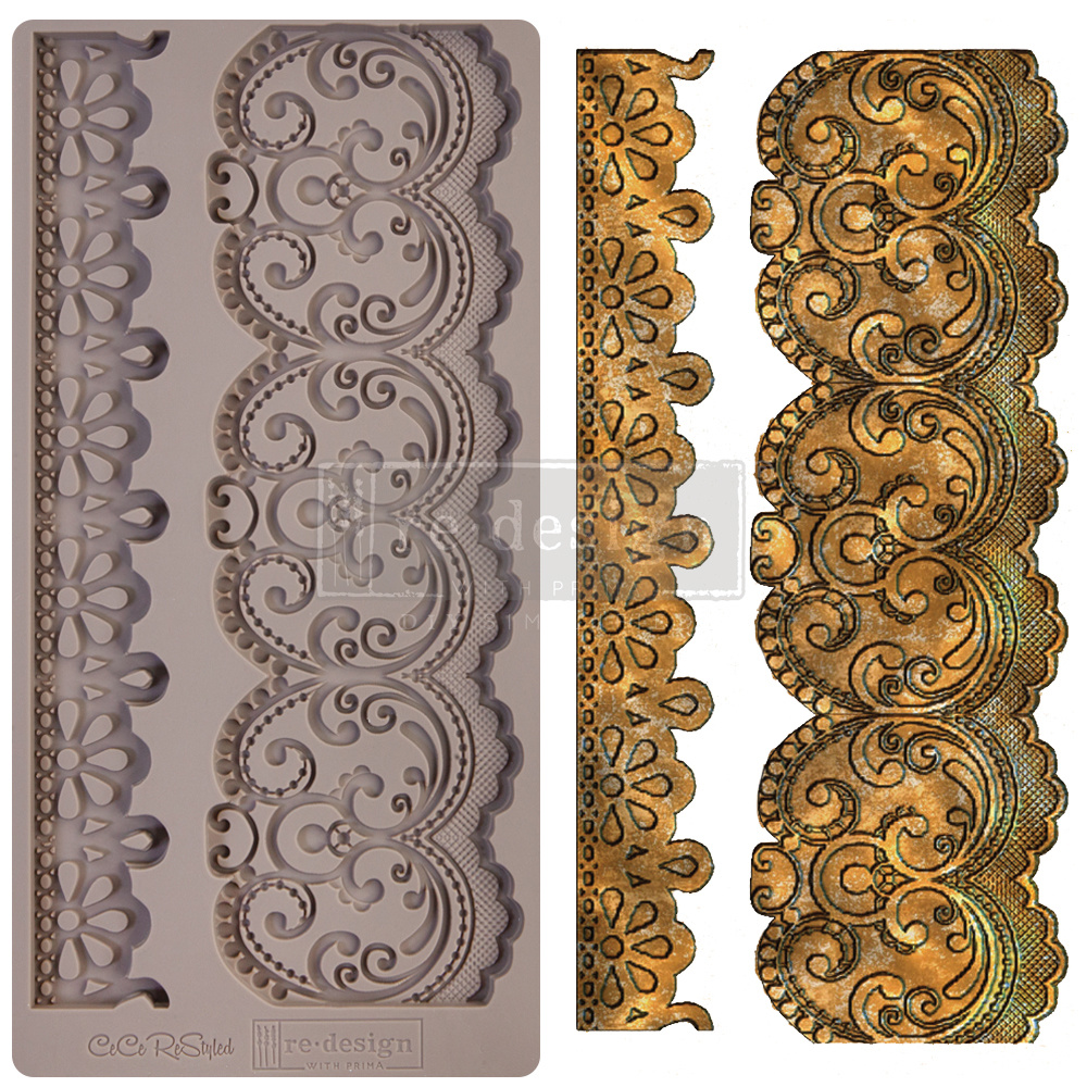 Redesign with Prima Redesign - Mould - Border Lace