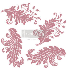 Redesign with Prima Redesign - Clear-Cling Stamps - Royal Flourish