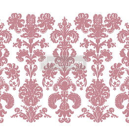 Redesign with Prima Redesign - Clear-Cling Stamps - Stamped Damask