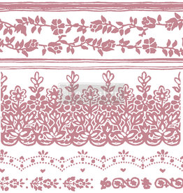 Redesign with Prima Redesign - Clear-Cling Stamps - Floral Borders