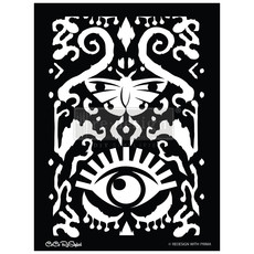 Redesign with Prima Redesign - Stencil - All Seeing Ikat Pattern