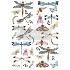 Redesign with Prima Redesign - Decor Transfer - Riverbed Dragonflies