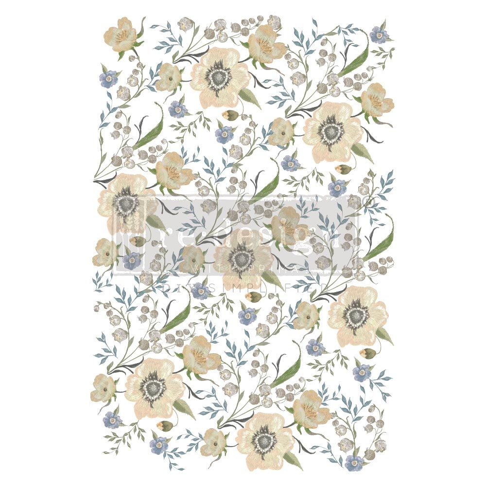 Redesign with Prima Redesign - Decor Transfer - Goldenrod Florals
