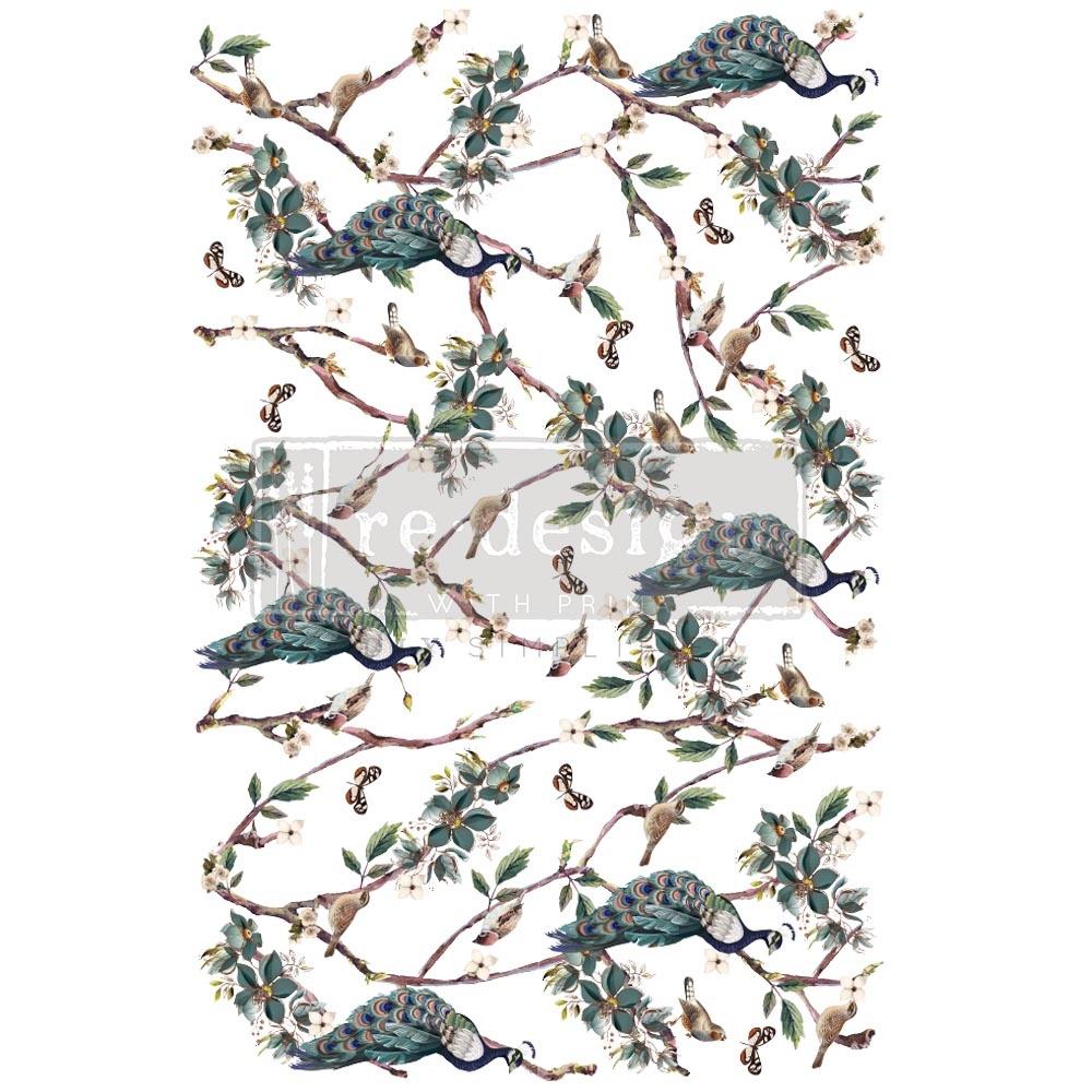 Redesign with Prima Redesign - Decor Transfer - Avian Sanctuary