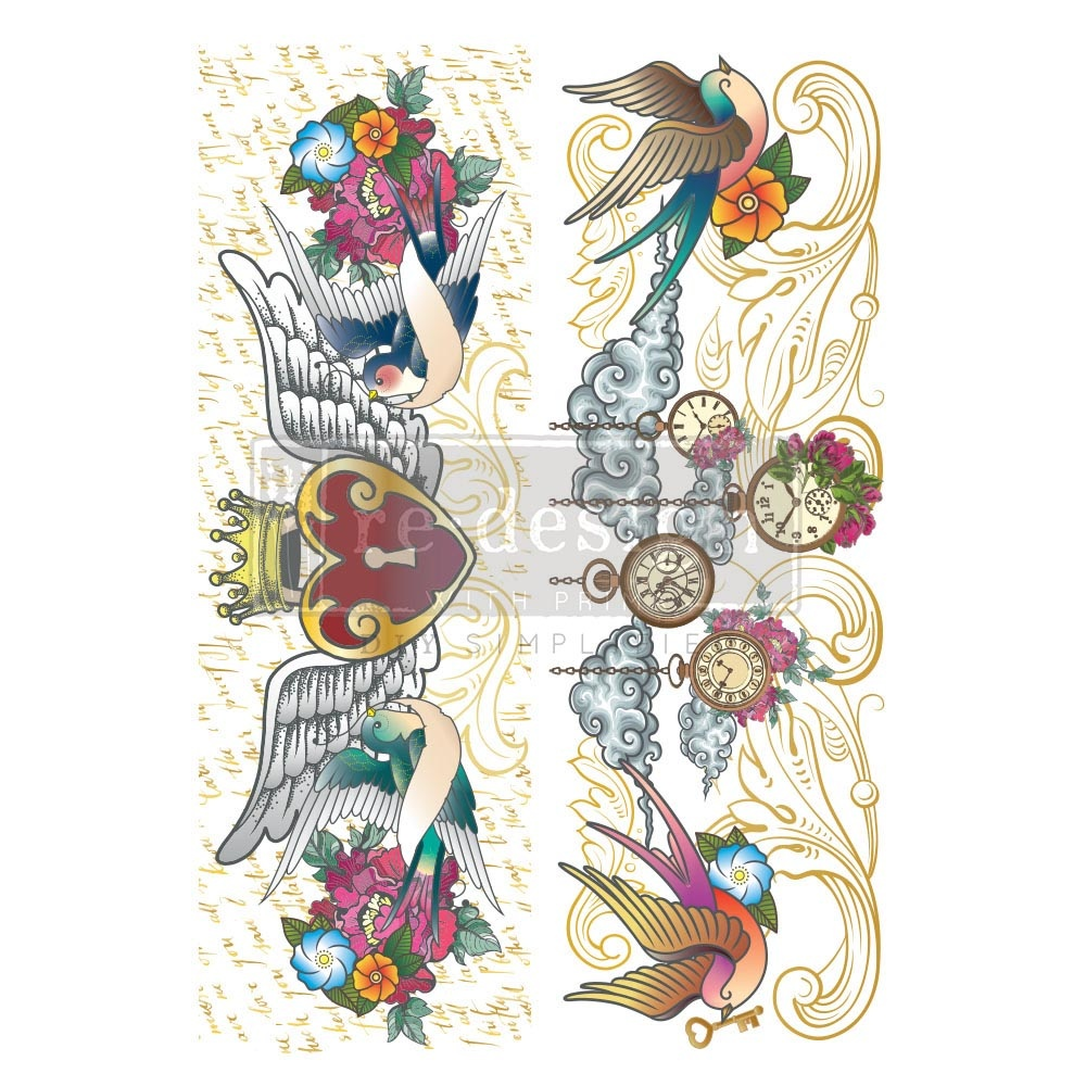 Redesign with Prima Redesign - Decor Transfer - Hey Sailor