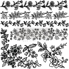 Redesign with Prima Redesign - Clear-Cling Stamps - Bold Branches