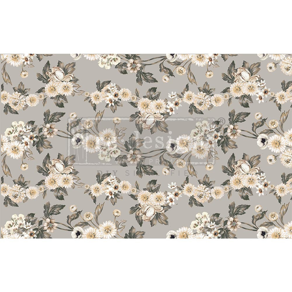 Redesign with Prima Redesign - Decoupage Tissue Paper - Vintage Wallpaper