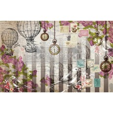Redesign with Prima Redesign - Decoupage Tissue Paper - Love Letters