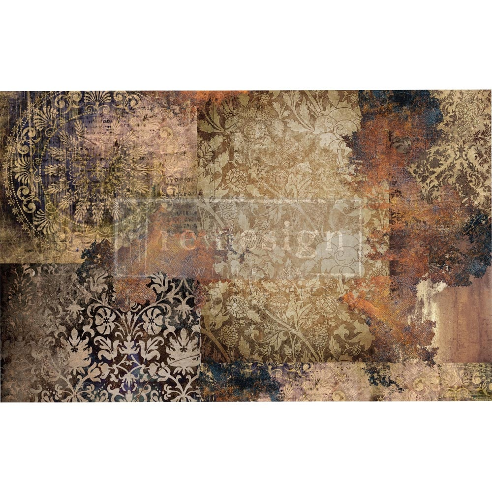 Redesign with Prima Redesign - Decoupage Tissue Paper - Gothic Rhapsody