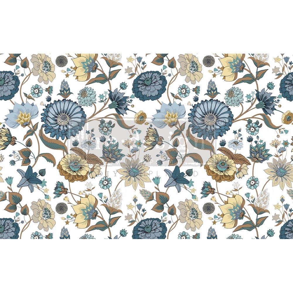 Redesign with Prima Redesign - Decoupage Tissue Paper - Garden Waltz