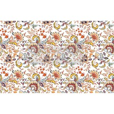 Redesign with Prima Redesign - Decoupage Tissue Paper - Tangerine Spring