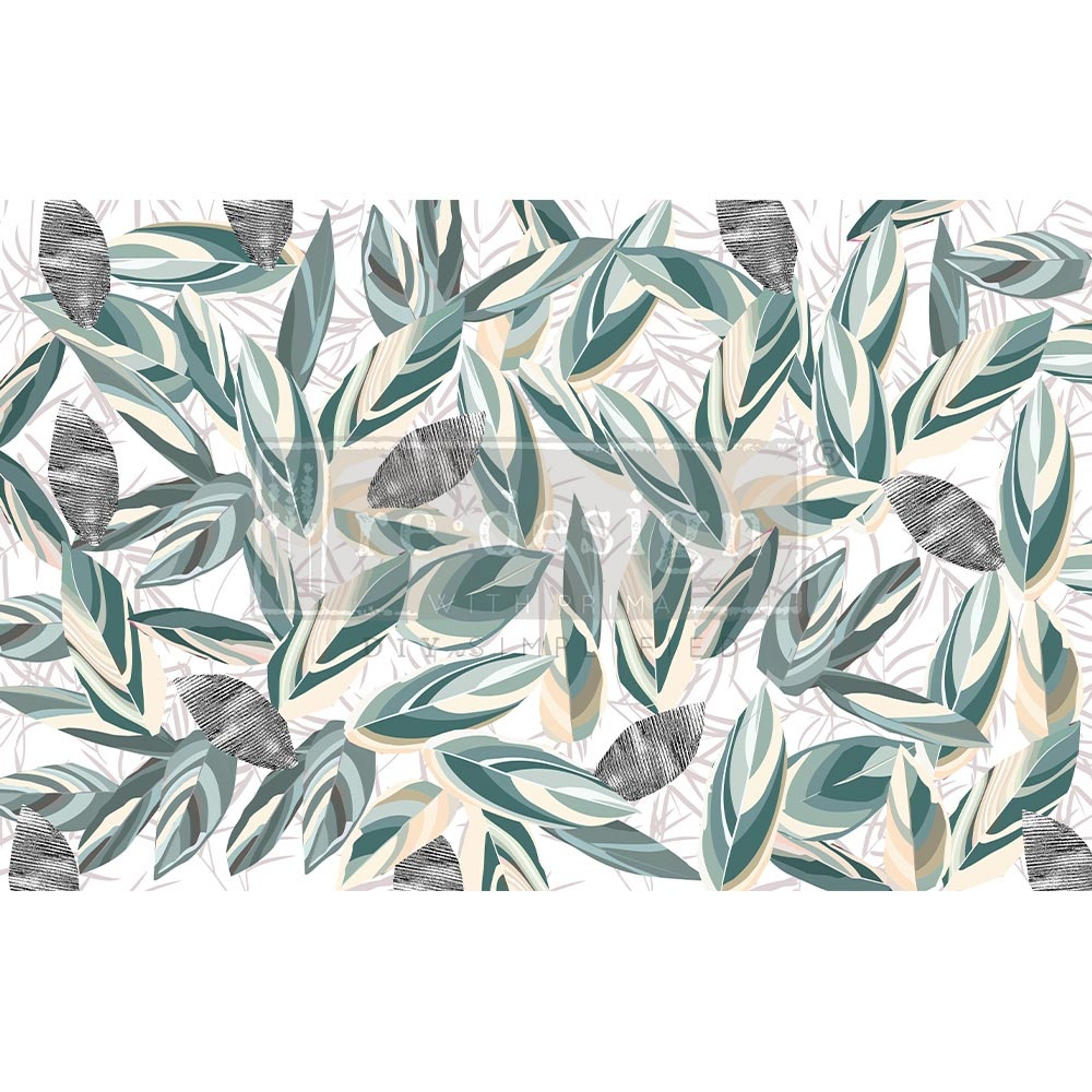 Redesign with Prima Redesign - Decoupage Tissue Paper - Radiant Eucalyptus