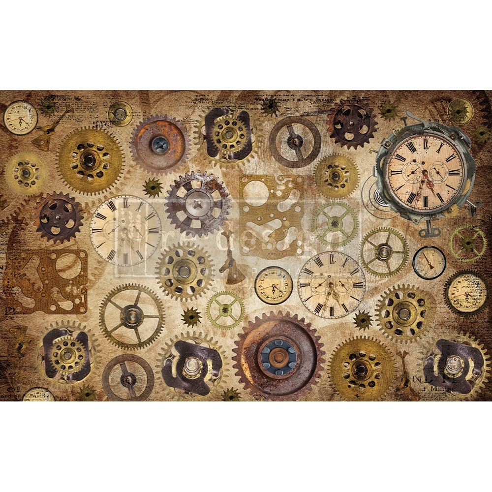 Redesign with Prima Redesign - Decoupage Tissue Paper - Timeworks