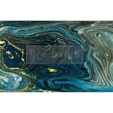 Redesign with Prima Redesign - Decoupage Tissue Paper - Nocturnal Marble