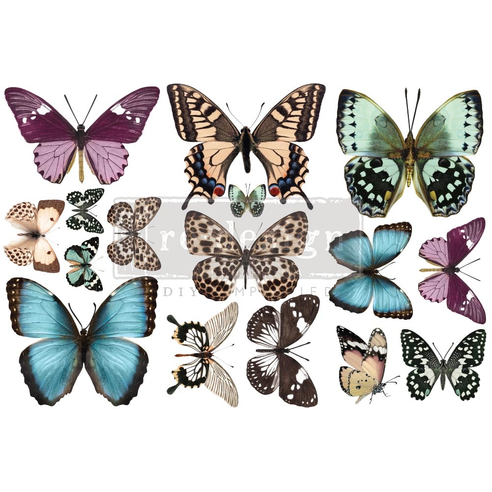 Redesign with Prima Redesign - Decor Transfer - Butterfly