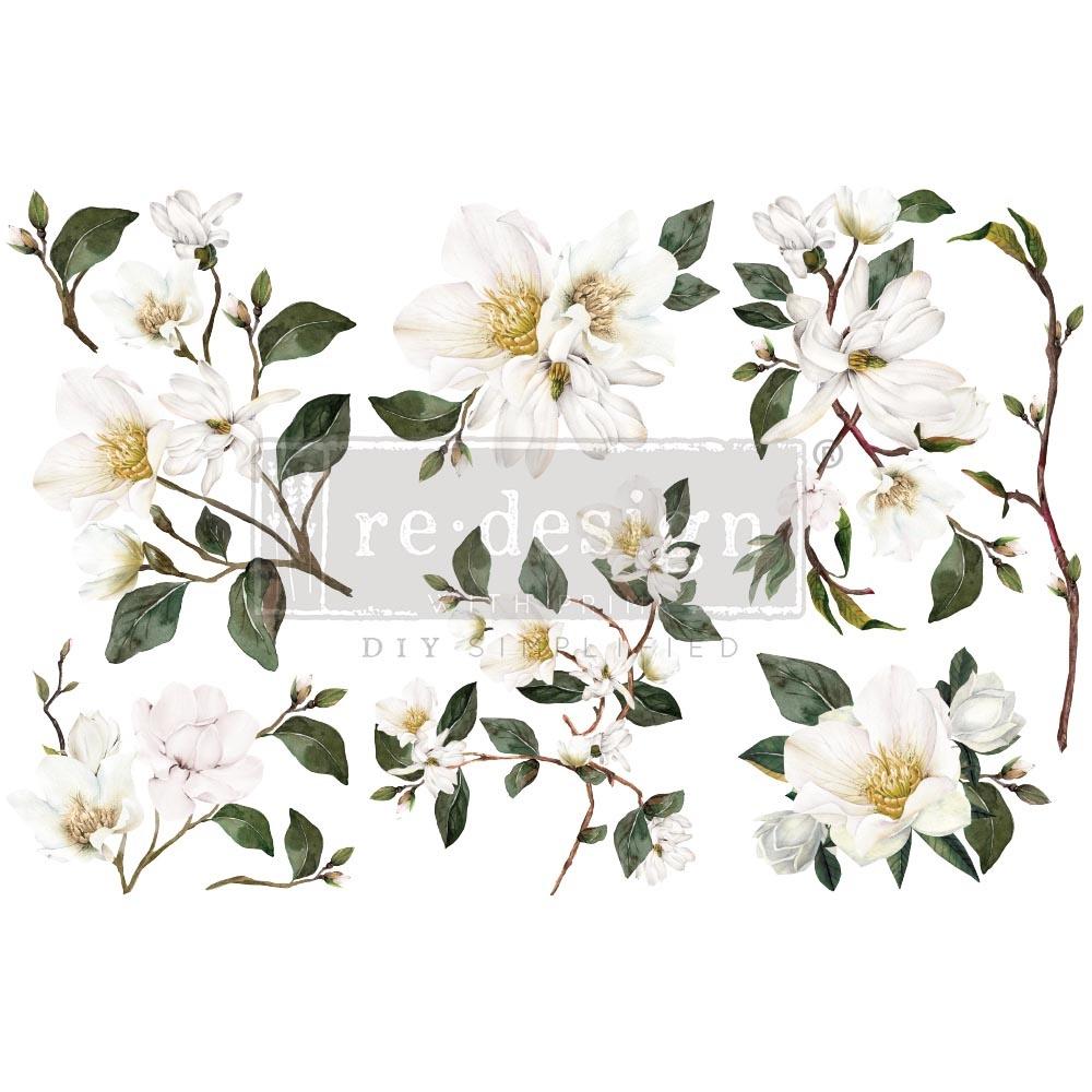 Redesign with Prima Redesign - Decor Transfer - White Magnolia