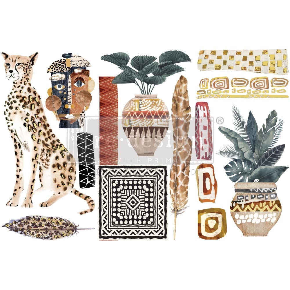 Redesign with Prima Redesign - Decor Transfer - Tribal Essence