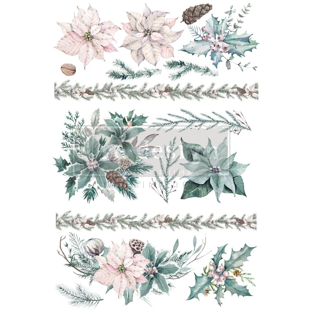 Redesign with Prima Redesign - Decor Transfer - Evergreen Florals