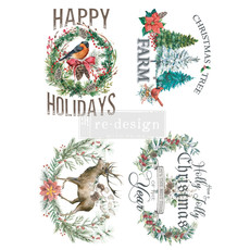 Redesign with Prima Redesign - Decor Transfer - Holly Jolly Xmas