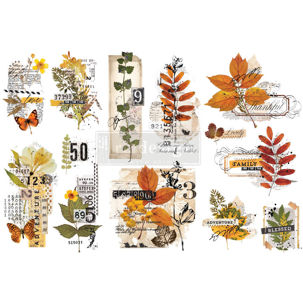 Redesign with Prima Redesign - Decor Transfer - Foliage Collector