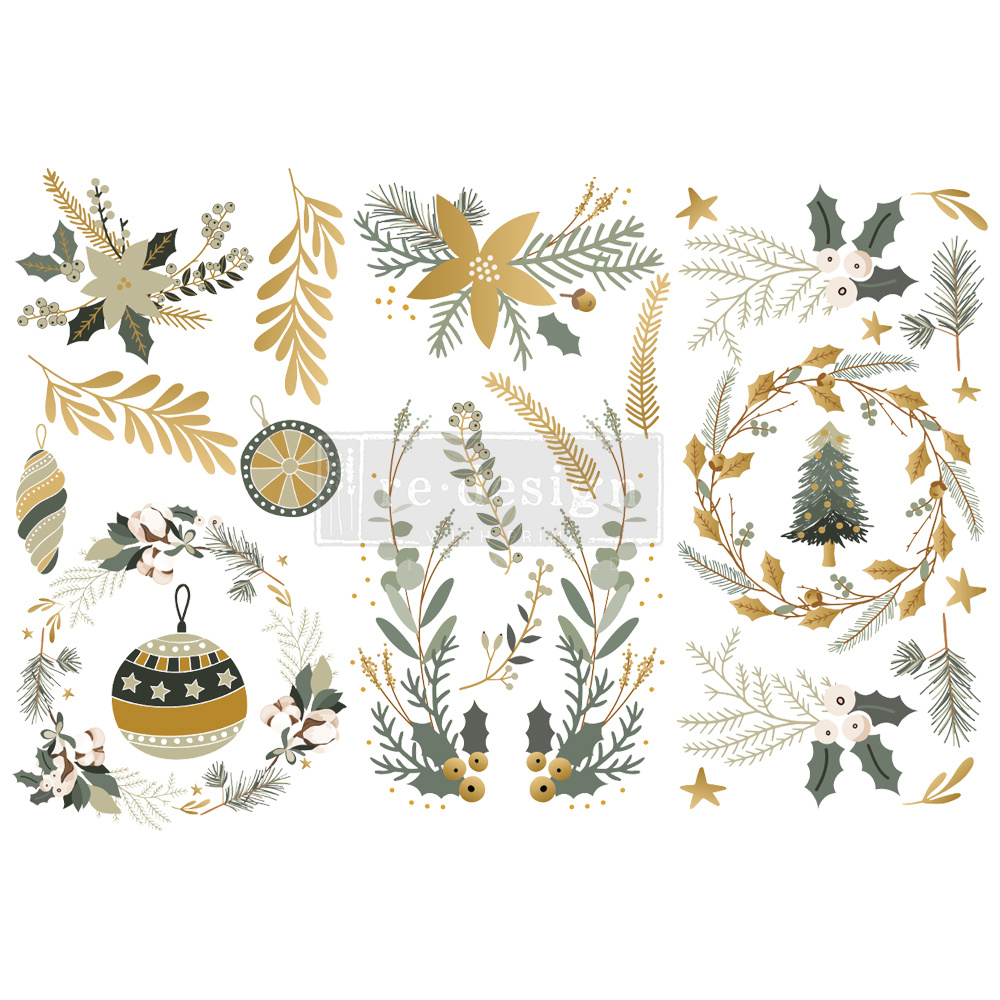 Redesign with Prima Redesign - Decor Transfer - Holiday Spirit