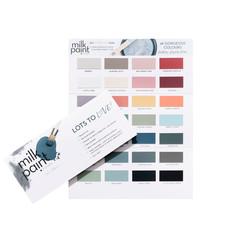 Fusion Mineral Paint Fusion - Milk Paint - Colour Card true to colour 10pcs