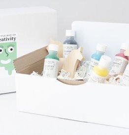 Fusion Mineral Paint Fusion - Fusion for Kids Tempera - Dala Horse kit