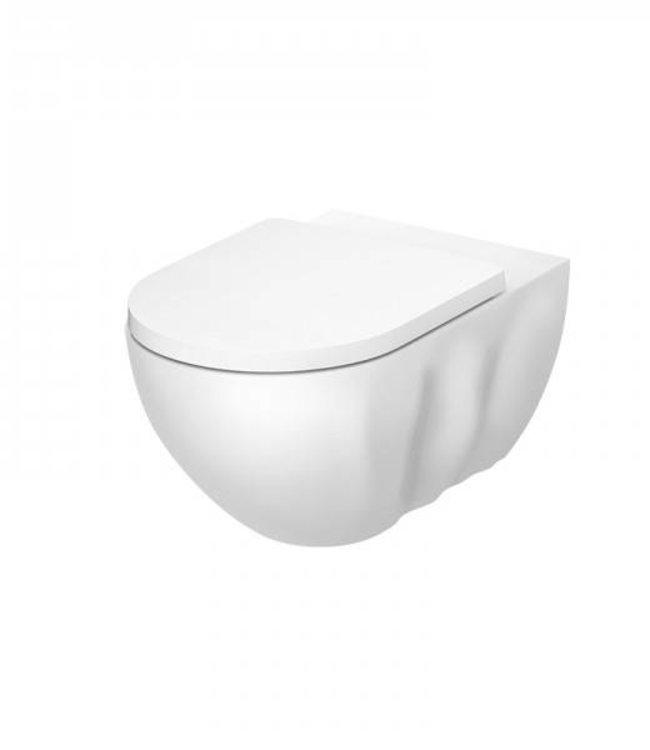 "Sanitear "" INFINITI "" Mat wit randloos toilet , hangend"