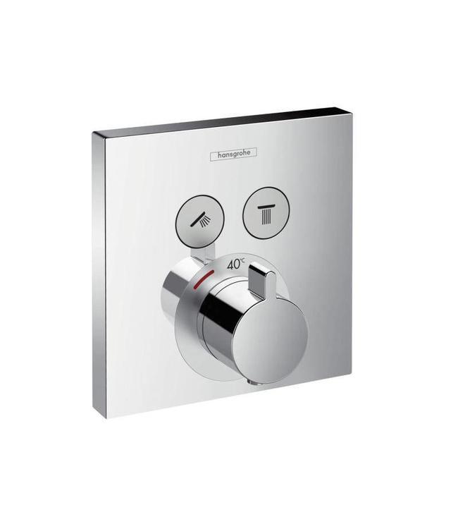 hansgrohe Shower Select  Inbouw douchethermostaatkraan met omstel set