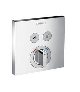 hansgrohe Shower Select  Inbouw douche thermostaatkraan 2 weg met omstel set