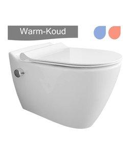 Sanitear MINERAAL HYG21 wandcloset met bidet warm-koud