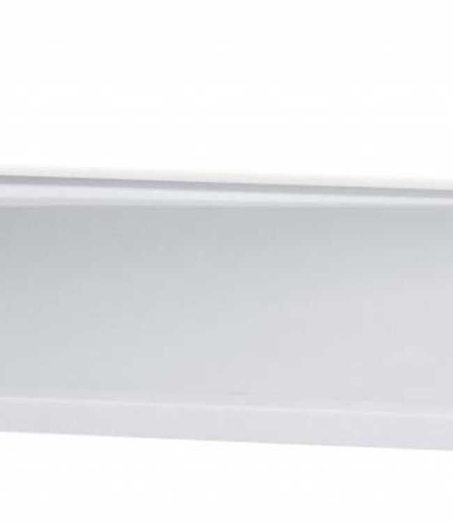 Como Rechthoekige douchebak 140x80 cm Solid surface