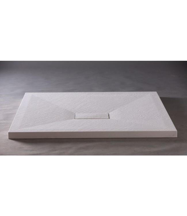 Sanitear 90x160 cm Antislip ,structuur surface douchebak douchebakafvoer met