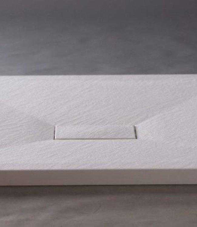 Sanitear 90x180 cm Antislip ,structuur surface met douchebak douchebakafvoer