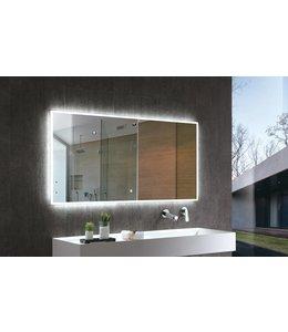 Sanitear Spiegel met led ( ingebouwd) verlichting 120 cm