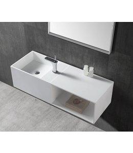 Sanitear Solid surface wastafel & badmeubel 110 x 40 x 30 cm