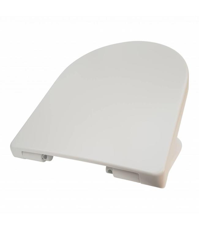Sanitear Toiletbril softclose, Capri, afneembaar, Quick Release , mat wit