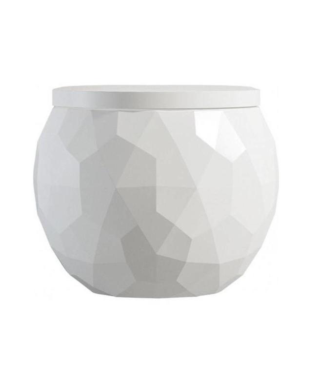 Sanitear Kwarts wandcloset met bidet incl. toiletbril