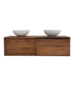 Como Wood,  Badkamermeubel hout,160 cm