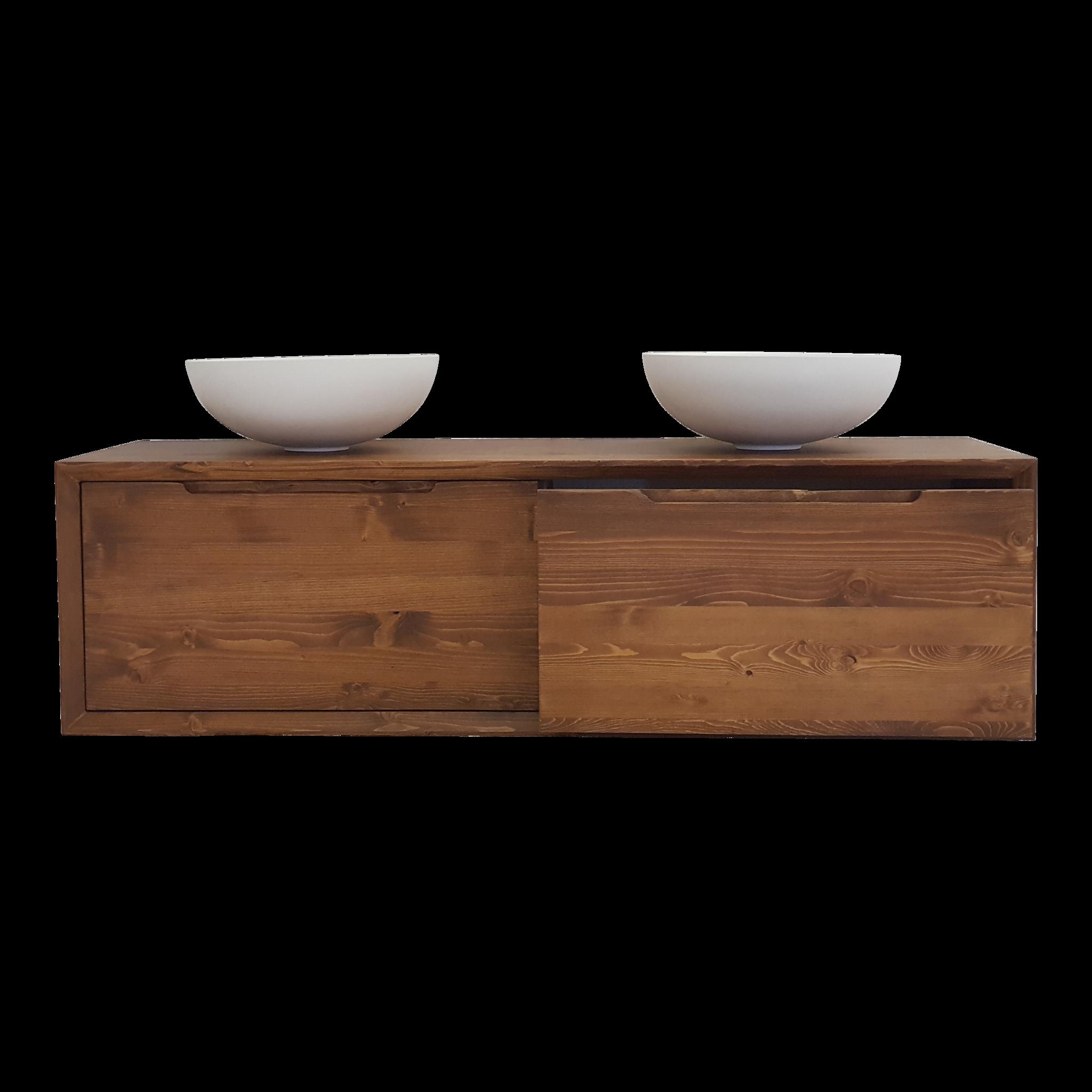 Welp Massive houten badmeubel 160 cm, Como Wood - Sanitear RM-78