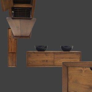 Wastafelmeubel Van Hout.Badkamermeubel Hout I 20 Design Eiken Hout Badmeubels I Sanitear