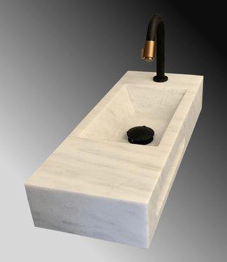 Como Lecce Fontein toilet natuursteen 50 cm