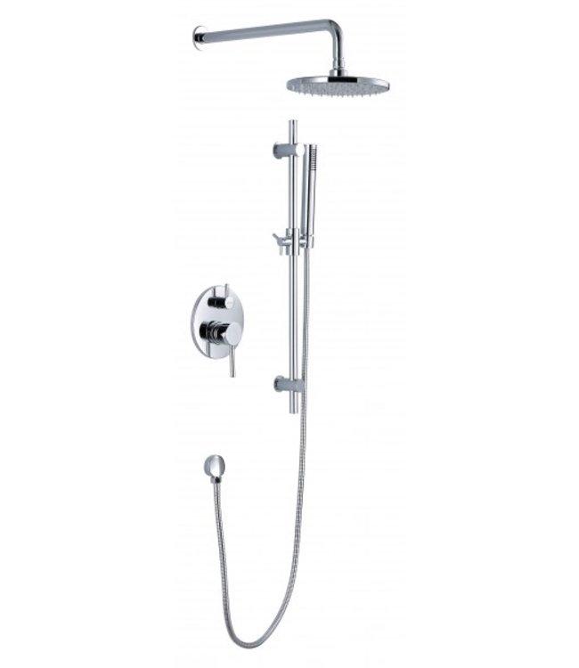 Sanitear Aanbieding. Inbouw douche set hand en hoofddouche functie