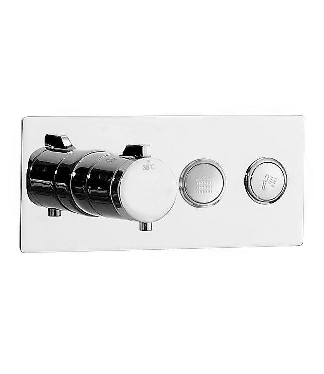 Como Smart control design Inbouw douchemengkraan, chroom