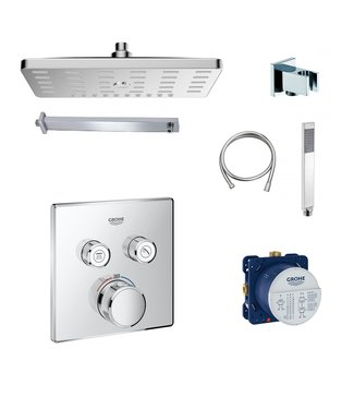 Grohe Grohtherm SmartControl doucheset. G04