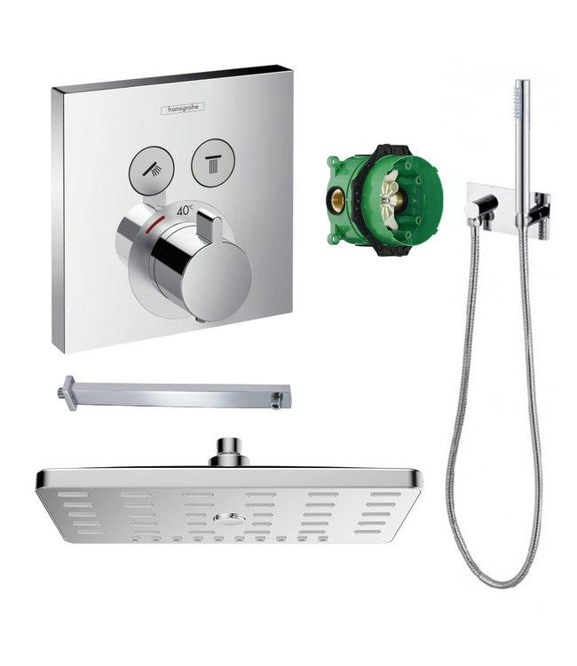 hansgrohe ShowerSelect inbouw douche-set, chroom