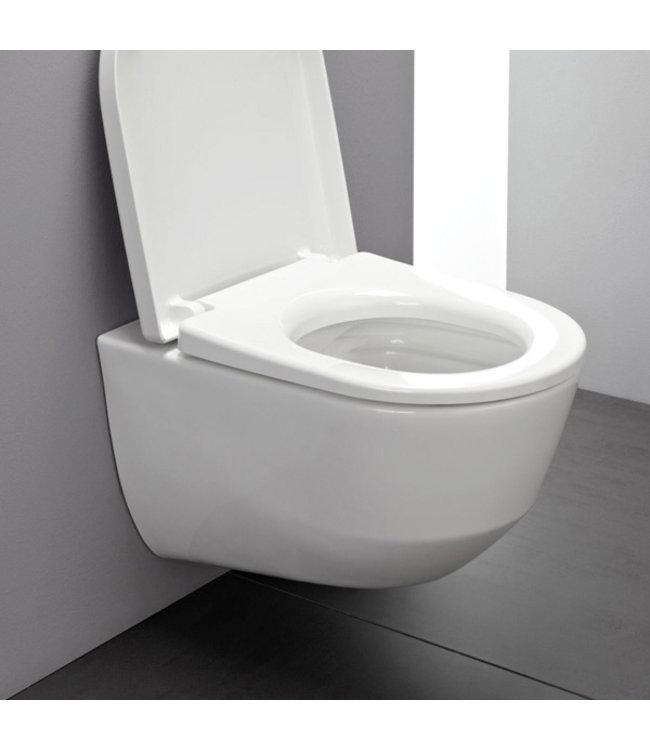 Laufen Pro compact toiletpot hangend, rimless, diepspoel
