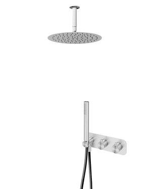 Bruma 316 RVS inbouw doucheset plafond