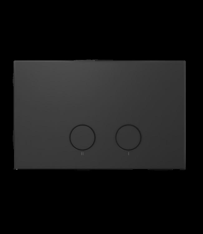 Como Mood drukplaat voor Geberit Up320 zwart mat