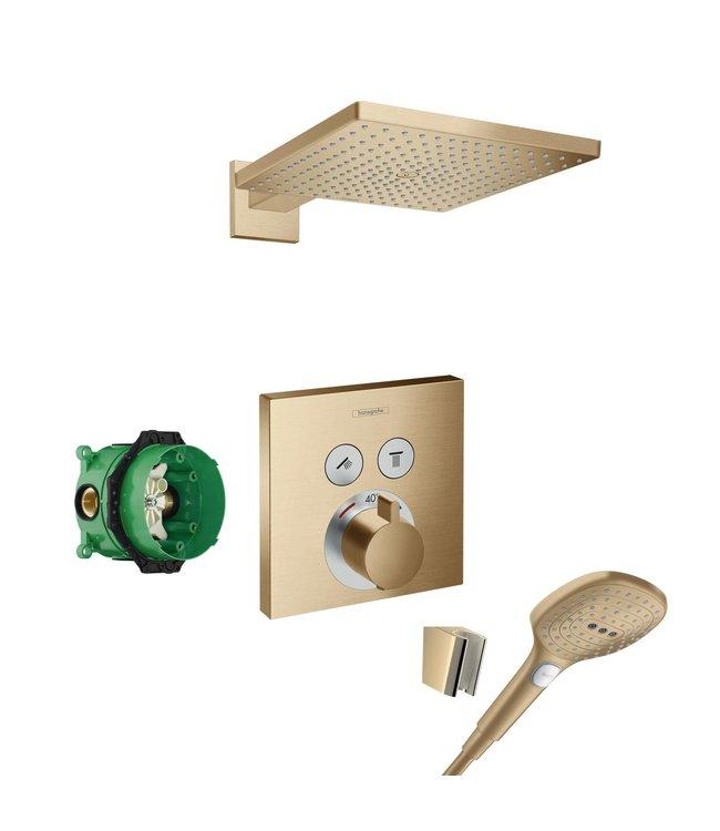 hansgrohe Shower Select  Inbouw doucheset geborsteld bronze